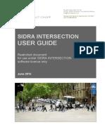 Sidra Input Guide