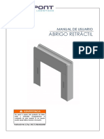 Manual - Abrigo Retractil - 2017