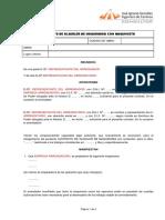 CONTRATO DE ALQUILER  DE MAQUINARIA