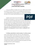 EAPP Reaction Paper