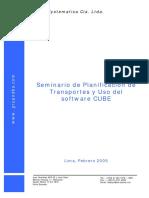 Seminario Planificacion de Transportes e Introduccion Al CUBE
