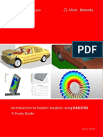 Explicit Analysis RADIOSS eBook