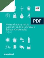 Manual de Nomenclatura y Notas Explicativas de Las Variables Basicas Ambientales
