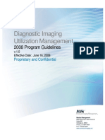 American Imaging Management Diagnostic Imaging Utilization Policies