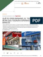 Qué Es Open Banking, El _guiño_ Del BCRA Que Todavía Esperan Los Bancos _ Noticia de Negocios _Infotechnology.com
