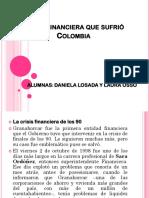 Crisis Financiera Que Sufrió Colombia
