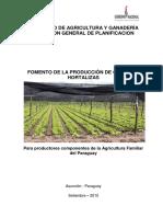 Proyecto Fomento de Produccion Granos Hortilizas