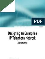 Designing an Enterprise IPT Network