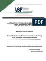 LA NORMATIVA INTERNACIONAL DE LAS ENTIDADES FISCALIZADORAS SUPERIORES