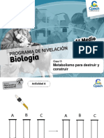 Programa de nivelación Biología
