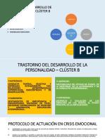 TRASTORNO DEL DESARROLLO DE LA PERSONALIDAD – CLÚSTER B.pptx