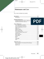 Manual de mantenimiento Mazda 2013