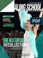 The Healing School Magazine - October 2019 Edition
