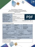 Dearrollo Del Componente Práctico-Software Especializado