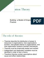 Organization Theory. by shafiq