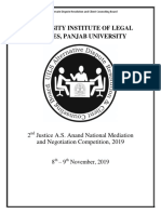 Rules for Justice a.S. Anand National MED. 2019