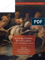 (Palgrave Historical Studies in Witchcraft and Magic) Michelle D. Brock, Richard Raiswell, David R. Winter-Knowing Demons, Knowing Spirits in the Early Modern Period-Springer International Publishing_.pdf