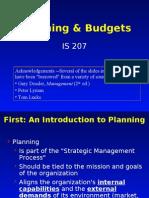 Budget Planning