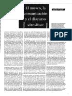El Museo La Comunicacion y El Discurso c