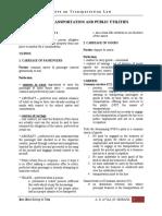 TRANSPO Aquino Notes 1