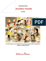 Indrumator Metodic 4-5 Ani Grupa Mijlocie Editura Diana