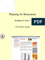 10 Planning for Retirement