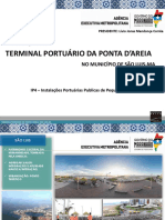 TERMINAL PORTUÁRIO DA PONTA D'ÁREIA 2XCV