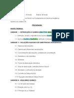 APOSTILA DE ANALÍTICA