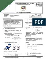 Teoria y Problemas de Razones y Proporciones I Ccesa007