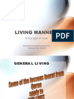 Living Manners