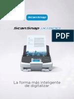 ScanSnap IX1500 Brochure-ESP