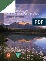 sustaining large landscape conservation partnerships