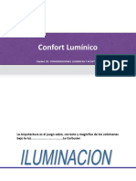 Confort luminico