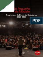 Programa de Gobierno de Ciudadanos 2020-2025 Web 1