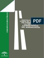 INSTRUCCIÓN para el diseño de firmes de la red de carreteras de Andalucía