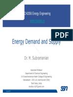 Energy Lecture 03 EnergyDemandandSupply