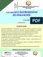 Planificación y Evaluacion Presentacion