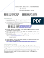 ACTG 383 Intermediate Financial Accounting and Reporting III  Syllabus Portland State University Fall 2019 with Madelyn Parson