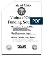 State of Ohio Victim of Crime Funding Sources