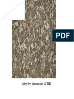 Carbon Steel Microstructure