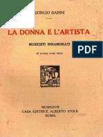 Barini Giorgio - La Donna e l'Artista, Musicisti Innamorati - ALBERTO STOCK 1927