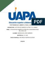 Tarea No.6 Historia de América Latina y el Caribe.