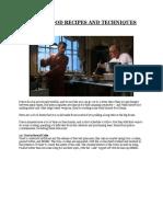 Prison cookbook 101