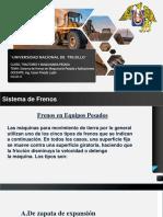 Sistema de Frenos en Maquinaria Pesada y Aplicaciones