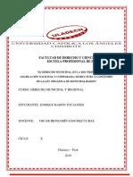 """ACTIVIDAD 05 """"Derecho Municipal, En La Doctrina, Legislación Nacional y ComparadA"""