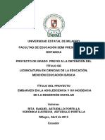 EMBARAZO EN LA ADOLESCENCIA Y SU INCIDENCIA EN LA DESERCIÓN ESCOLAR.pdf