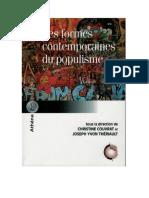 Le Retour Du Populisme en Amerique Lati