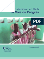 Education en Haiti