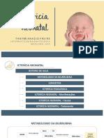 Ictericia Neonatal - Aula