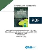 Código de Investigación de Siniestros (CIMC)